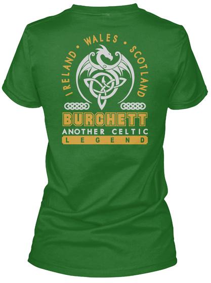Burchett Another Celtic Thing Shirts Irish Green T-Shirt Back