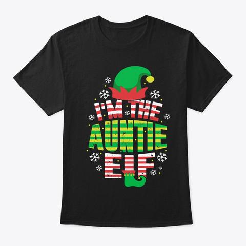 Funny Christmas Shirt Black T-Shirt Front