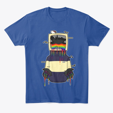 Tw1g Error Deep Royal T-Shirt Front