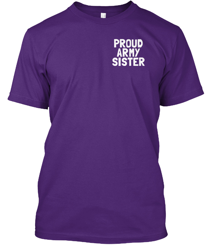 My-Hero-proud-Army-Sister-Proud-Some-People-Will-Hanes-Tagless-Tee-T-Shirt thumbnail 14