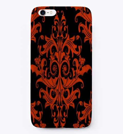 Halloween Special Iphone Case Black T-Shirt Front