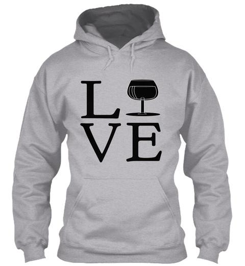 Love Sport Grey T-Shirt Front