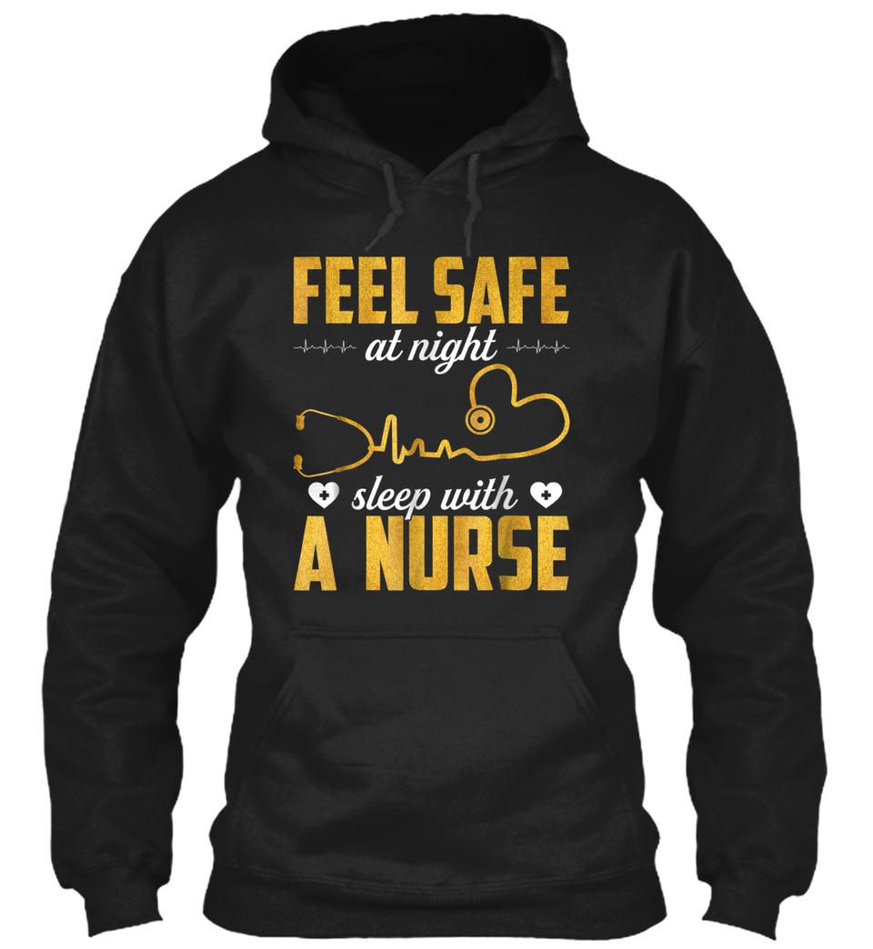 FEEL SAFE AT NIGHT SLEEP WITH A NURSE -