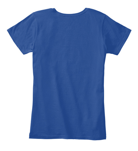 Friendship Day T Shirts Deep Royal  Women's T-Shirt Back