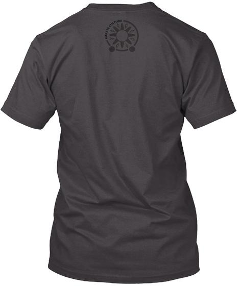 Karate Culture Heathered Charcoal  T-Shirt Back