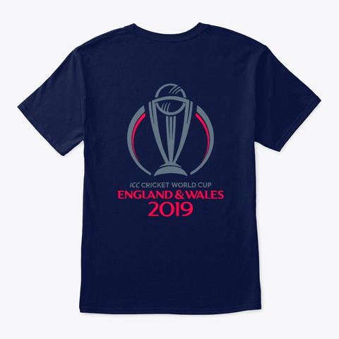 Cheer Team India @Mr.Technology&Arts Navy T-Shirt Back