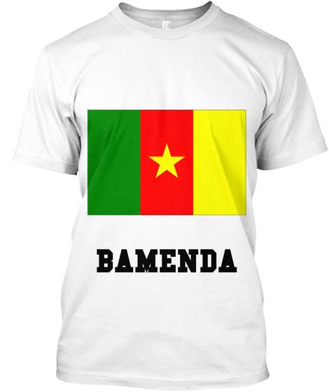 Bamenda White T-Shirt Front