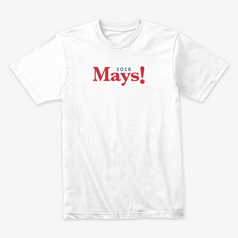Billy Mays Campaign White T-Shirt Front