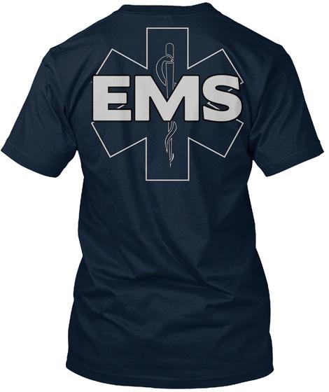 Ems New Navy T-Shirt Back