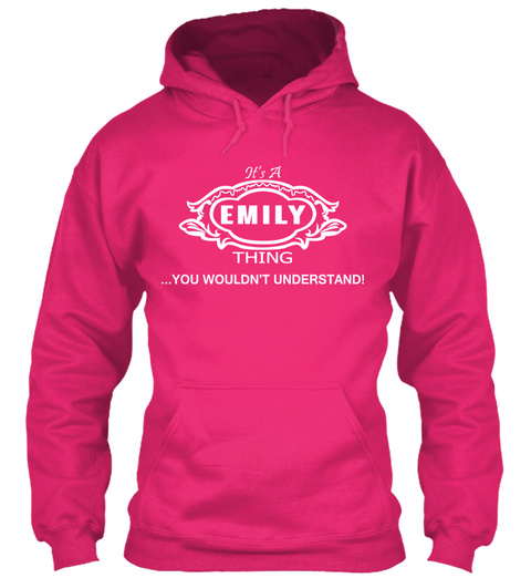Emily Thing Tshirt Heliconia T-Shirt Front