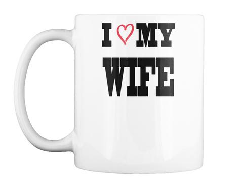valentine mugs white mug front
