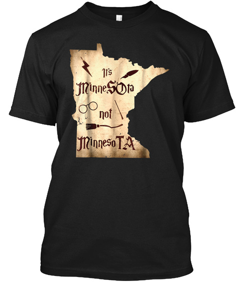 Harry Magical T Shirt Wizard Potter Powe Black T-Shirt Front
