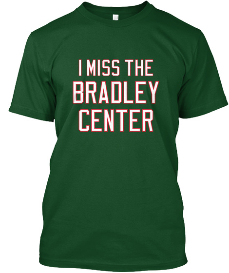 Naming Wrongs: Bradley (Green) Deep Forest T-Shirt Front