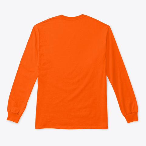 Coco Berrad Safety Orange T-Shirt Back