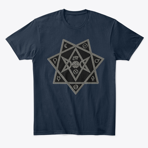Thelema : Star Of Babylon (1) New Navy T-Shirt Front