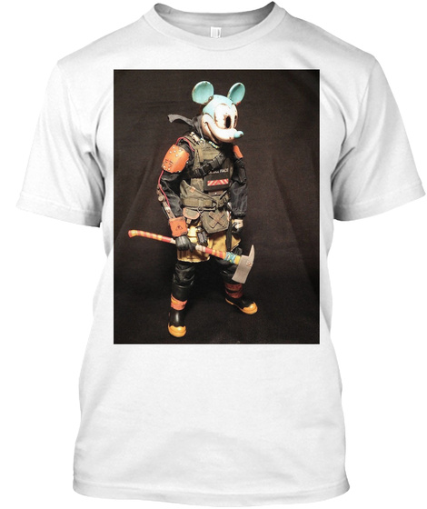 The Rat White T-Shirt Front