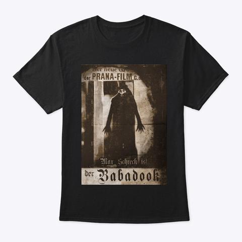 Vintage Babbadook Black T-Shirt Front