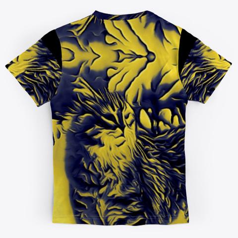 Bc Cat 8400 Black T-Shirt Back