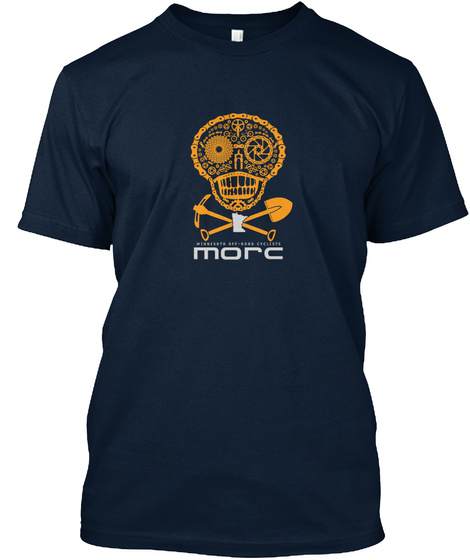 More New Navy T-Shirt Front