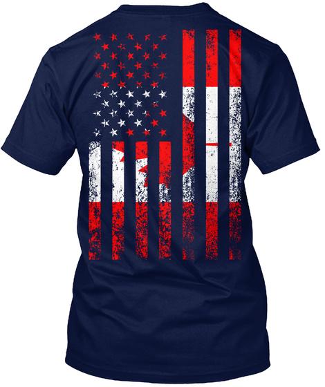 Na Navy T-Shirt Back