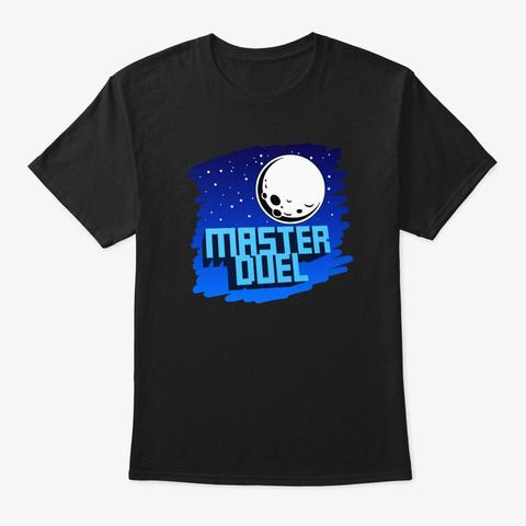 Master Duel Design Black T-Shirt Front