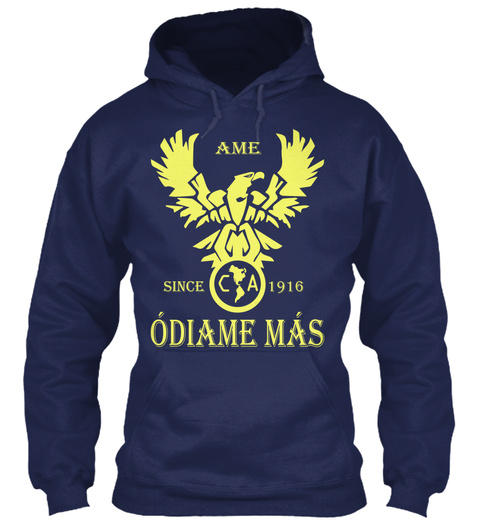 Ame Since 1916 Odiame Mas Navy T-Shirt Front