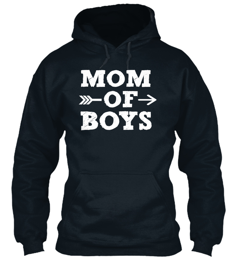 Mom-Of-Boys-Gift-For-Standard-College-Hoodie