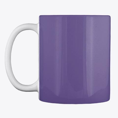 """Bulb Art"" Mug Purple T-Shirt Front"