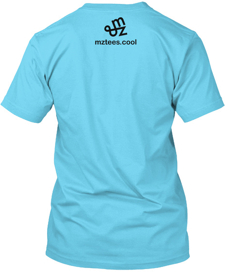 Happy Olive Tahiti Blue T-Shirt Back