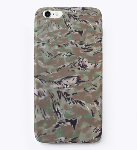 All Terrain Tiger Strip Camo Case Standard T-Shirt Front