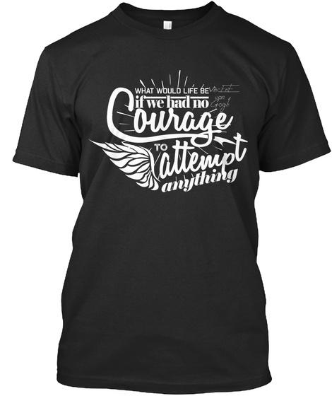 Artistvincentvangogh Black T-Shirt Front