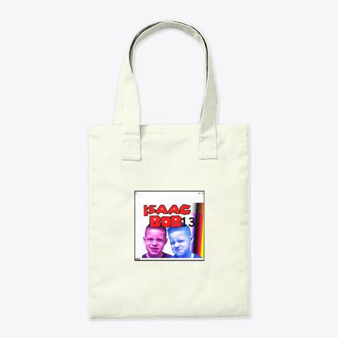 Isaacbob13 Bag Natural T-Shirt Back