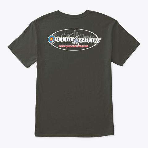 Archery Lover Smoke Gray T-Shirt Back