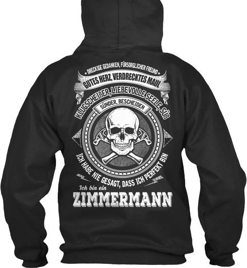 Zimmermann   Limitierte Auflage Jet Black Sweatshirt Back