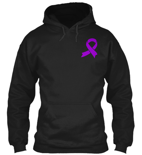 Choose Life & Fight!Sjögren's Syndrome Black Sweatshirt Front