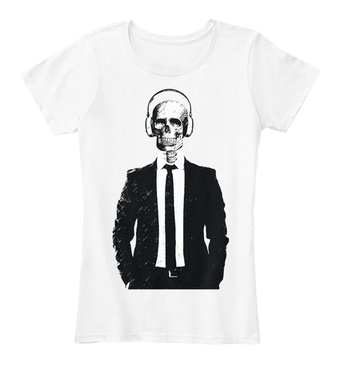 Nightmare Fuel   Women's White Women's T-Shirt Front