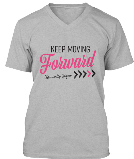 Chronically Jaquie 2017 (Pink) - keep moving forward usually ...