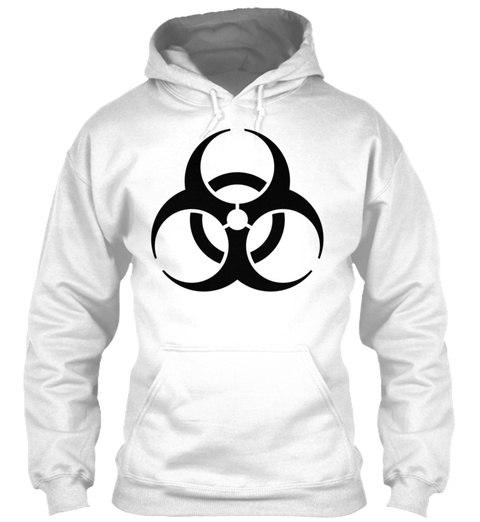 Zombie Apocalypse Mug White Sweatshirt Front