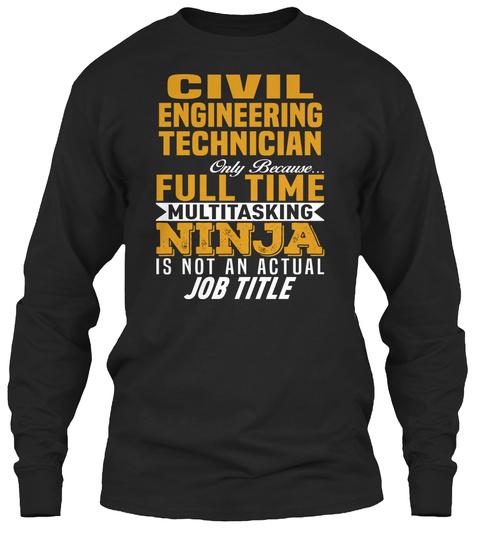 Civil Engineering Technician Hoodie Tshirt