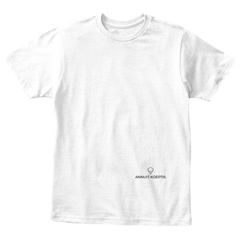 Positive Seeds White T-Shirt Front
