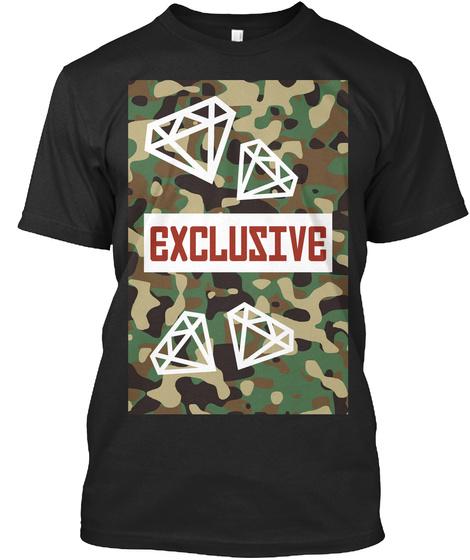 Exclusive Black T-Shirt Front