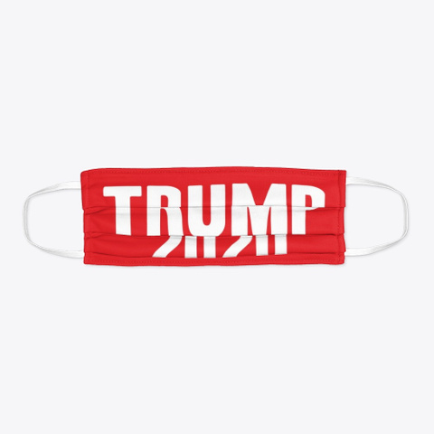 Trump For President 2020 Red T-Shirt Flat