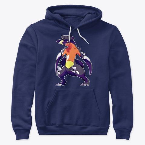 Chomp Navy Sweatshirt Front