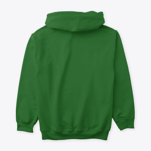 Carnival By Mezonic Hoodie Kelly Green T-Shirt Back