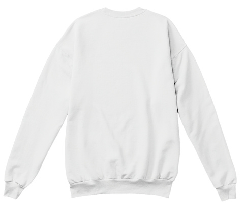 Classic 6god Anime Vibe Sweater  White  Sweatshirt Back