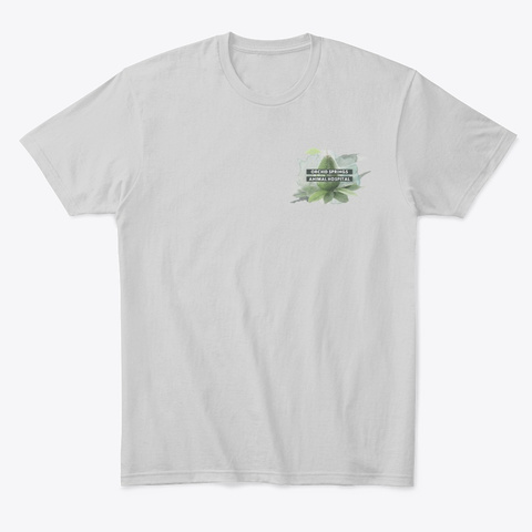 Uli And Avocados Light Heather Grey  T-Shirt Front