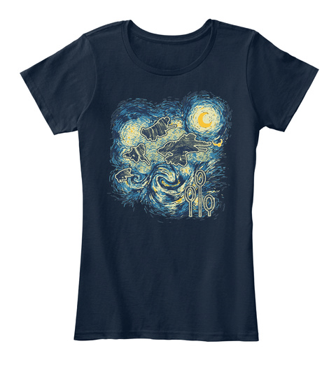 O/ I New Navy Women's T-Shirt Front