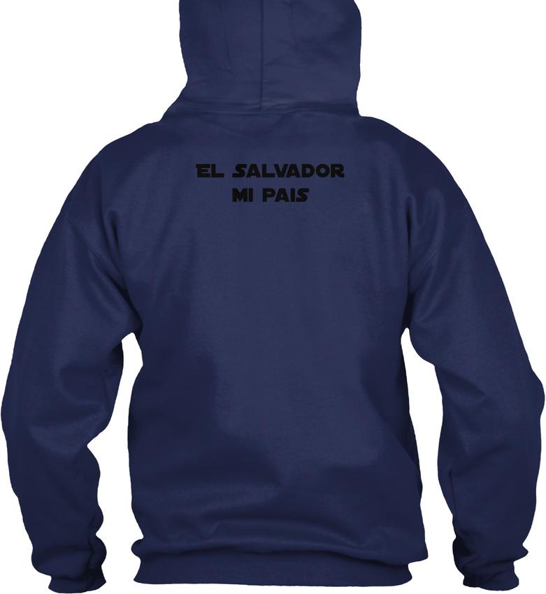El-Salvador-Mi-Pais-Republica-De-En-La-America-Gildan-Hoodie-Sweatshirt thumbnail 10