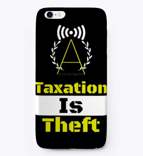 Radcap Phone Case Black T-Shirt Front