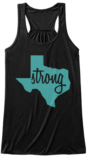 Strong Loveofdiscie Black Women's Tank Top Front